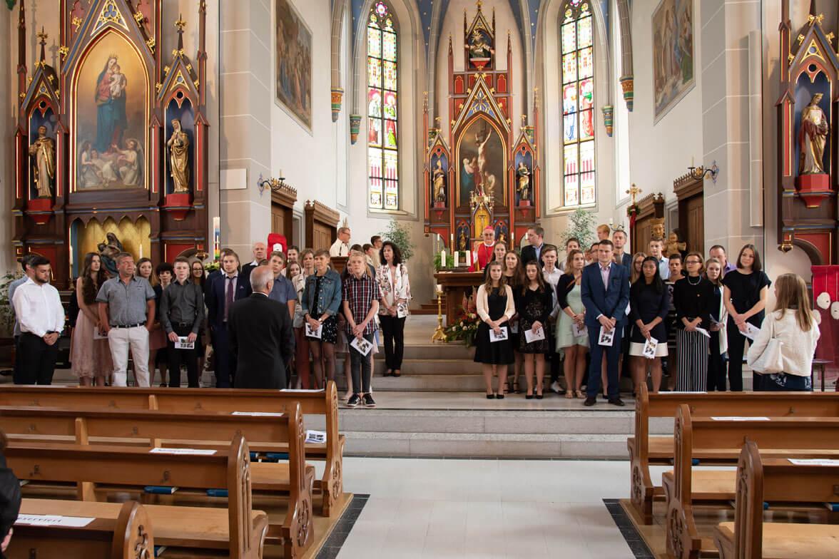 2018 Firmung Kirche